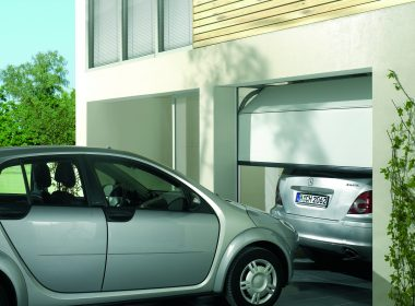 Maximise space with a minimalist garage door