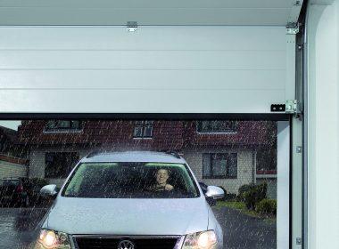 Water tight, insulated garage doors