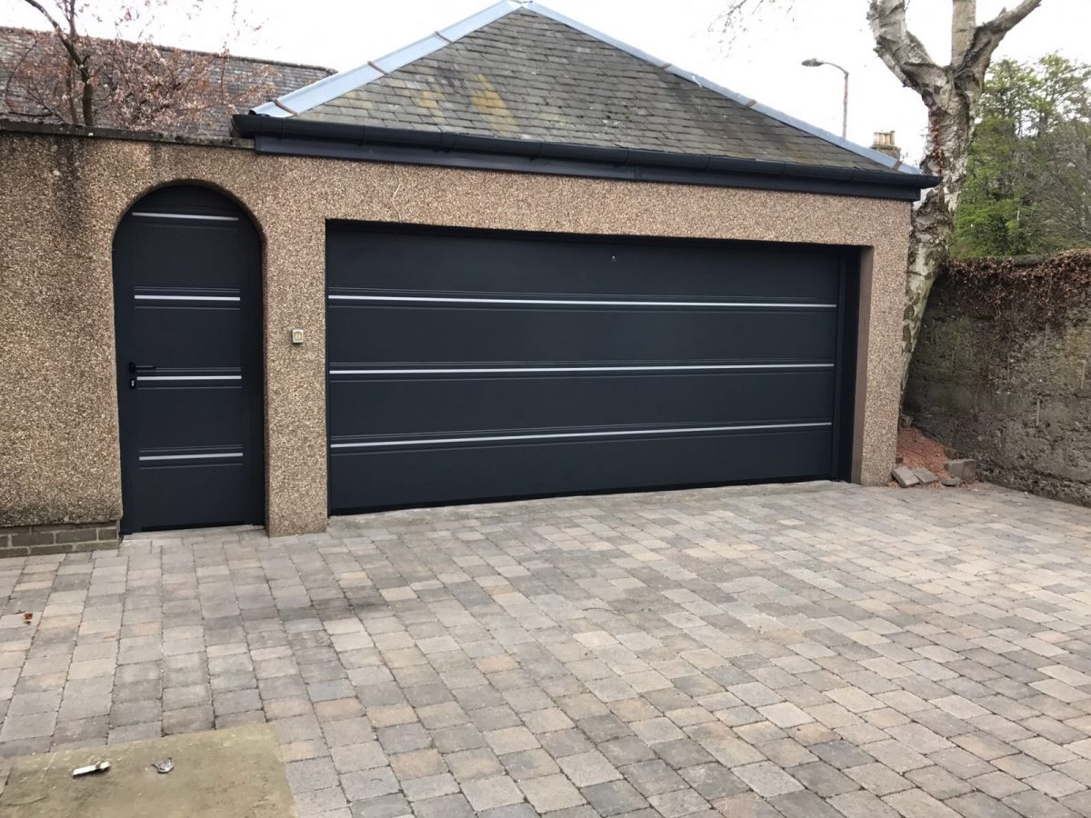 Sectional Garage Doors Supplied Fitted Tayside Garage Doors